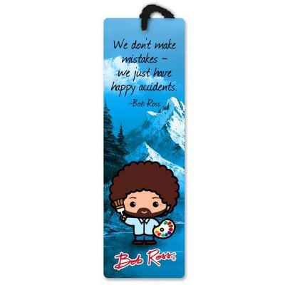 Re-marks, Inc. Bob Ross Happy Accidents 2.25 x 7.25 Inch Paper Bookmark