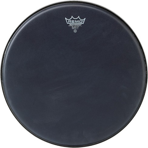 Remo Black X Batter Drumhead - image 1 of 2