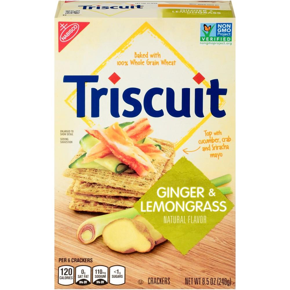 Triscuit Ginger & Lemongrass Crackers - 8.5oz