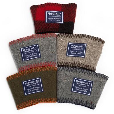 Holiday 2pk Mixed Assortment Coffee Sleeve - Faribault Woolen Mill