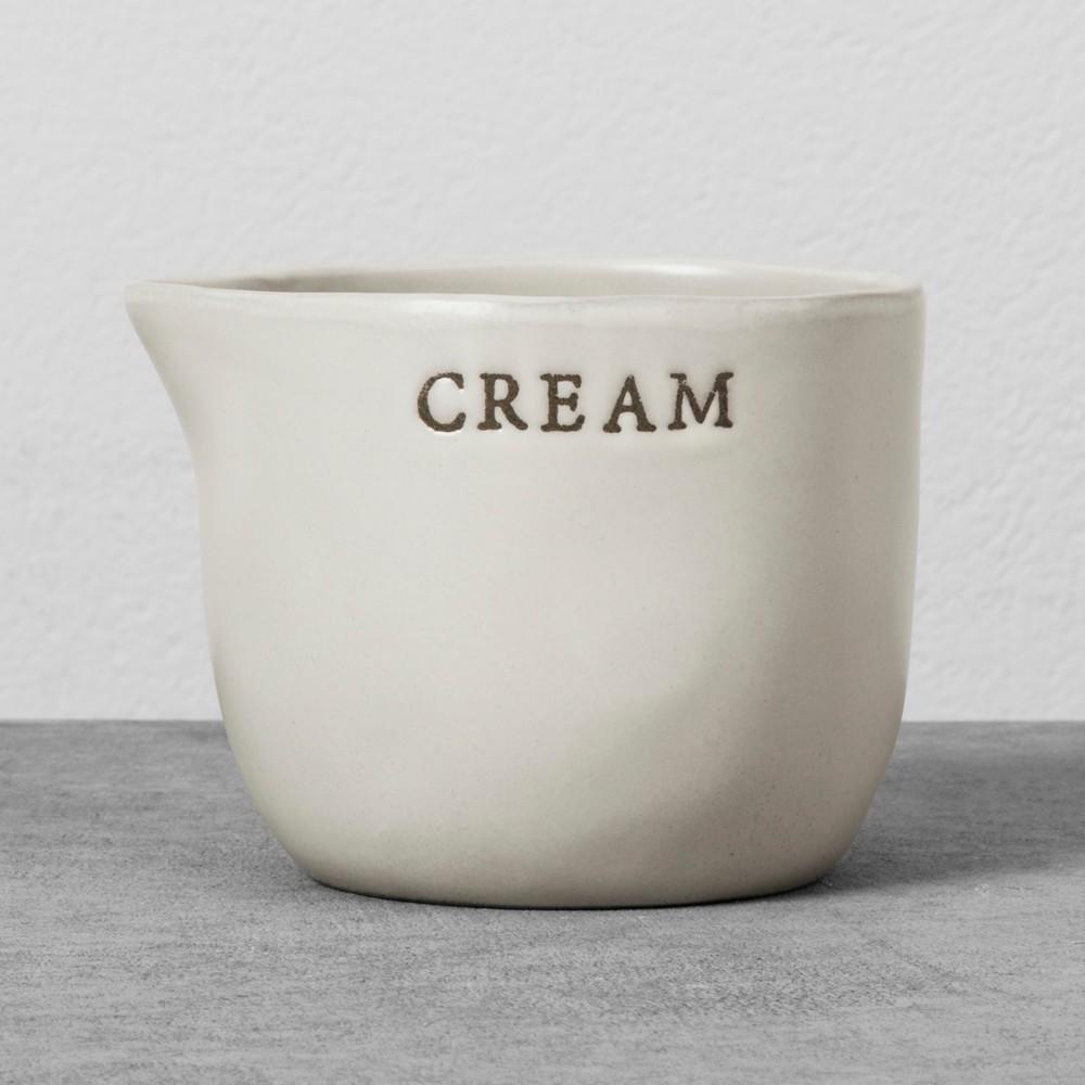 Stoneware Cellar - Cream - Hearth & Hand with Magnolia, White