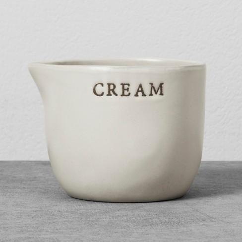 Stoneware Cream Cellar - Hearth & Hand™ with Magnolia - image 1 of 2