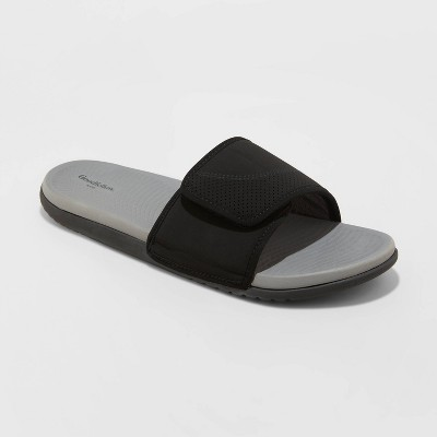 Men's Lester Flip Flop Sandals - Goodfellow & Co™ Black S