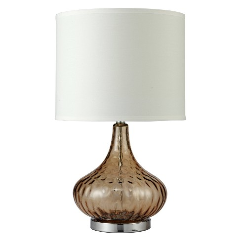"24.5"" Courtney Fluted Table Lamp - Ore International - image 1 of 2"