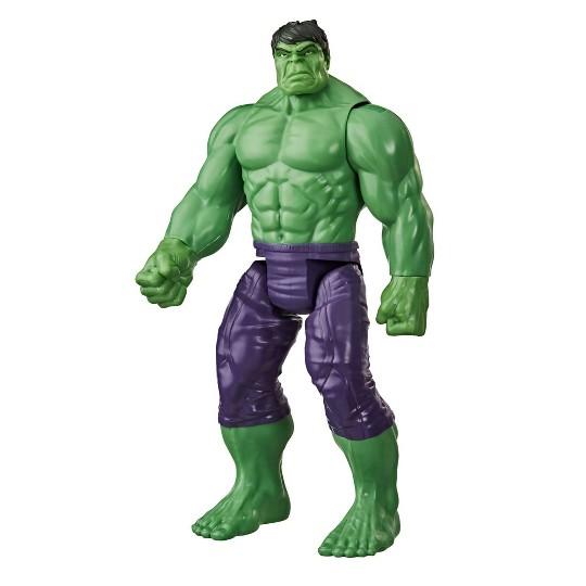 Marvel Avengers Titan Hero Series Blast Gear Deluxe Hulk Action Figure image number null