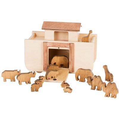 Remley Kids Wooden Noah's Ark Playset