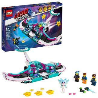 LEGO THE LEGO Movie 2 Wyld-Mayhem Star Fighter 70849 Toy Spaceship Building Set 405pc