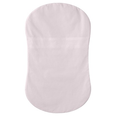 HALO Bassinest Swivel Sleeper 100% Cotton Fitted Sheet - Pink Woven