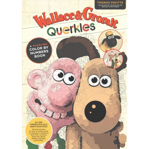 Wallace Gromit Querkles Paperback Thomas Pavitte Target