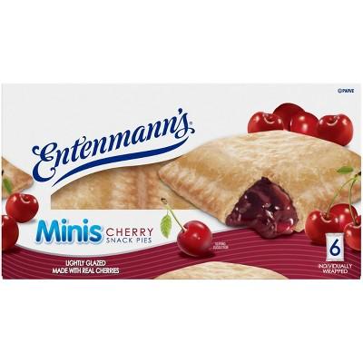 Entenmann's Mini Cherry Snack Pies - 6ct/12oz