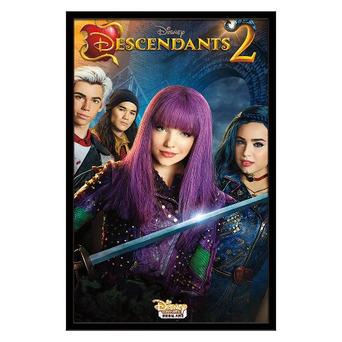 Descendants 2 - One Sheet Framed Poster Trends International - image 1 of 5