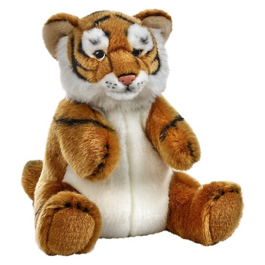 Lelly National Geographic Tiger Hand Puppet image number null