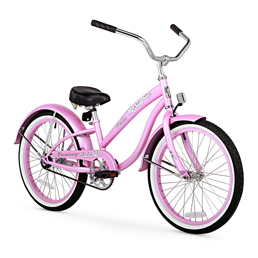 Firmstrong Bell Sports Classic 20 Kids' Cruiser Bike - Pink