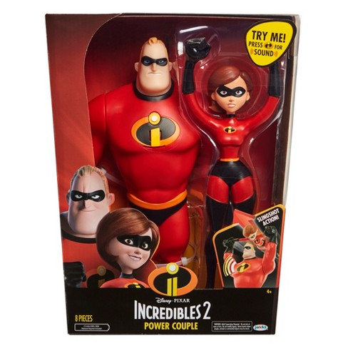 incredibles 2 power couple 12 figures target