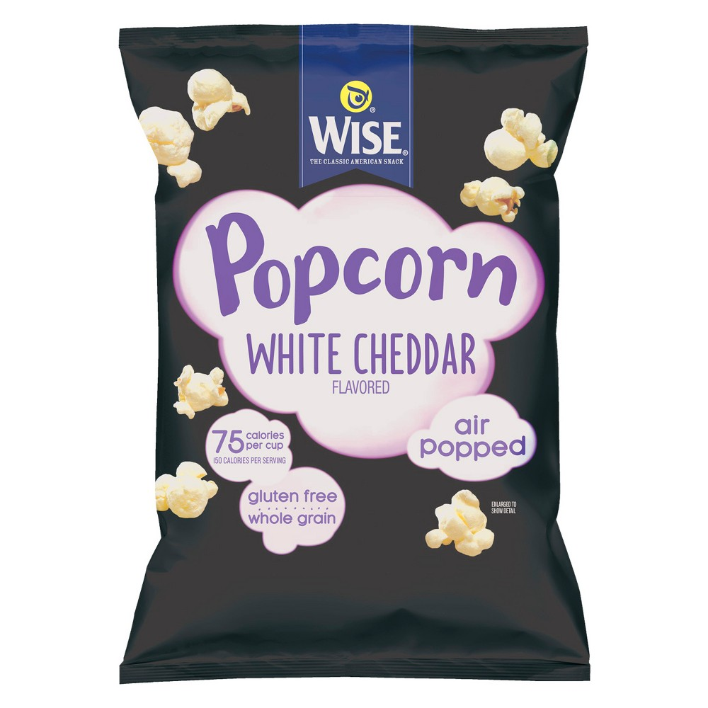 Wise White Cheddar Flavored Popcorn - 6oz