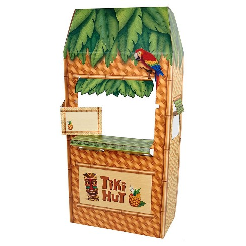 Jungle Party Tiki Hut Cardboard Cutout Standee - image 1 of 1