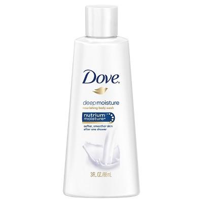 Dove Deep Moisture Body Wash-Trial Size - 3oz