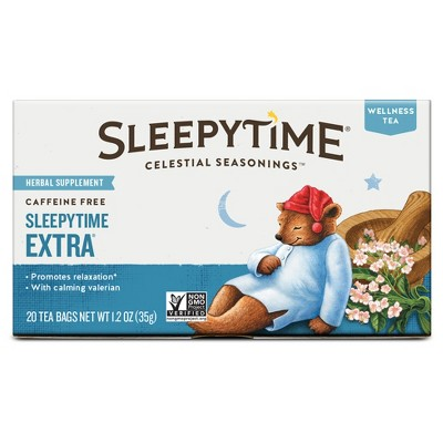 Celestial Seasonings Sleepytime Extra Caffeine Free Wellness Tea - 20ct