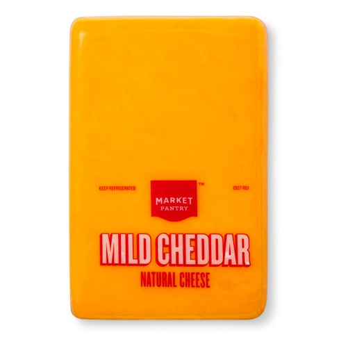 Mild Cheddar Cheese - Market Pantry™ - image 1 of 1