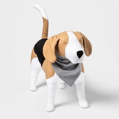 Woven Stripe Tie Dog Bandana - Blue - Boots & Barkley™