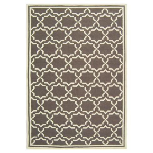 Casablanca Dhurry Rug - Chocolate/Ivory - (5'x8') - Safavieh - image 1 of 1
