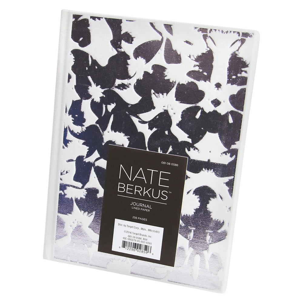 Floral Fabric Journal, Lined Paper - Nate Berkus, Multi-Colored
