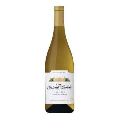 Chateau Ste. Michelle Pinot Gris White Wine - 750ml Bottle