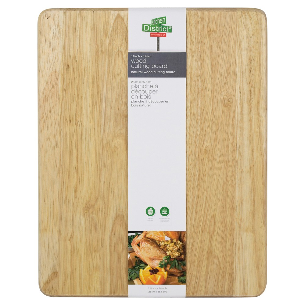 "Image of ""Architec 11""""x14"""" Natural Wood Cutting Board, Brown"""
