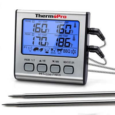 ThermoPro TP17 Digital Meat Cooking BBQ Food Electronic Thermometer