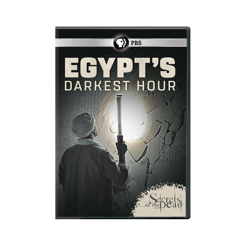Secrets Of The Dead Egypt S Darkest Hour Dvd