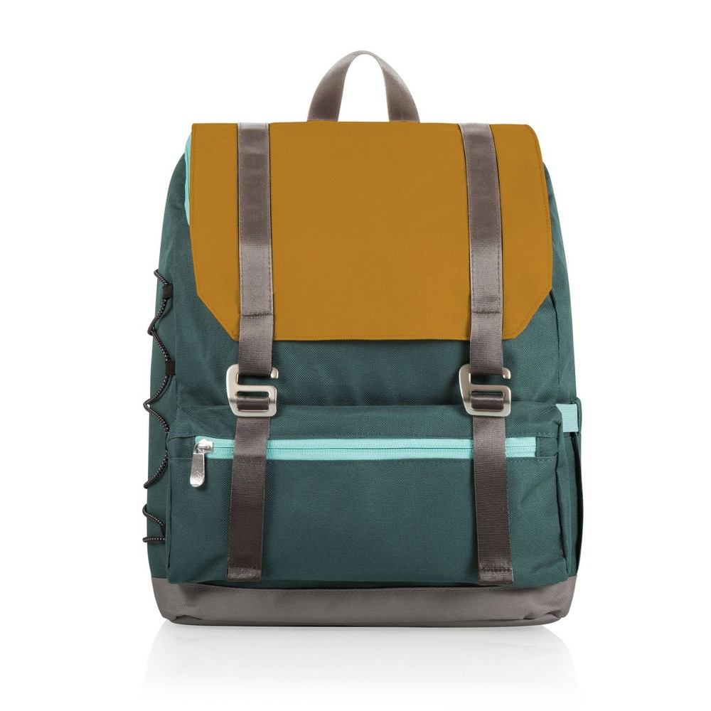 Image of Picnic Time On The Go Traverse Cooler Backpack - Mustard