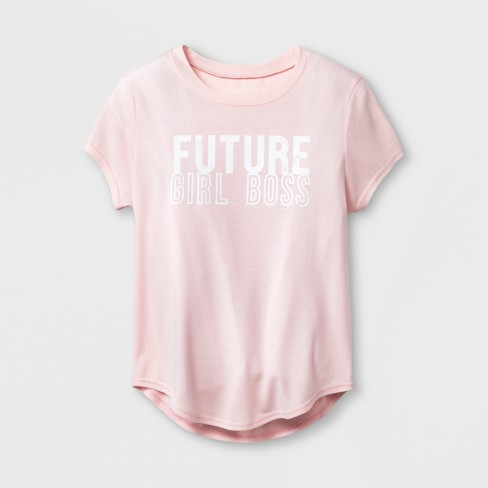 27c4c41aa57 Grayson Social Girls   Future Girl Boss  Graphic Short Sleeve T ...