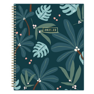 """2021-22 Academic Weekly/Monthly Planner 8.5"""" x 11"""" Into the Forest - Fox and Fallow"""