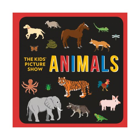 Animals - (Kids' Picture Show) by  Chieri DeGregorio & Steve DeGregorio (Board_book) - image 1 of 1