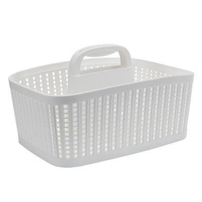 Sailor Knot Bath Tote White - Simplify