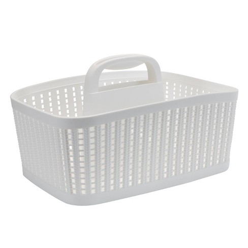 Sailor Knot Bath Tote White - Simplify - image 1 of 4