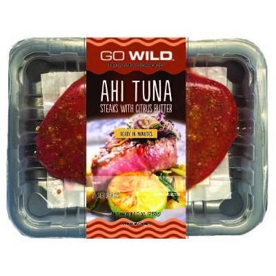Go Wild Ahi Tuna with Asian Rub - 10oz