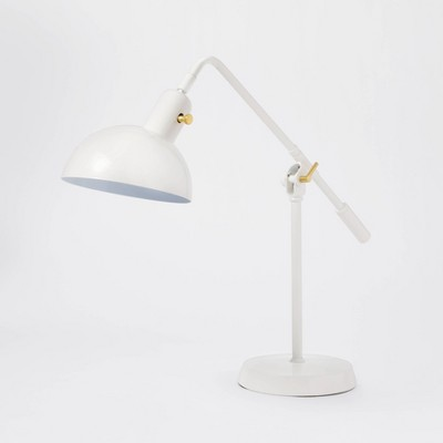 Cantilever Task Table Lamp White - Threshold™ designed with Studio McGee
