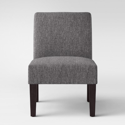 Quincy Basic Slipper Chair Charcoal - Threshold™