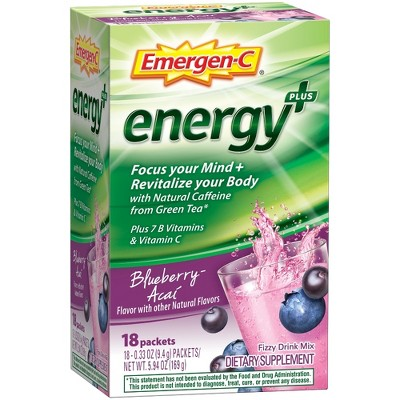 Cold & Flu: Emergen-C Energy Drink Mix Packets