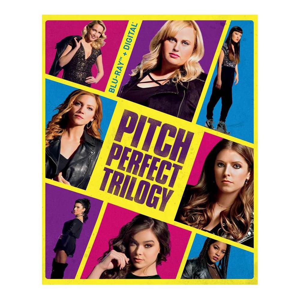 Pitch Perfect Trilogy (Blu-ray + Digital)