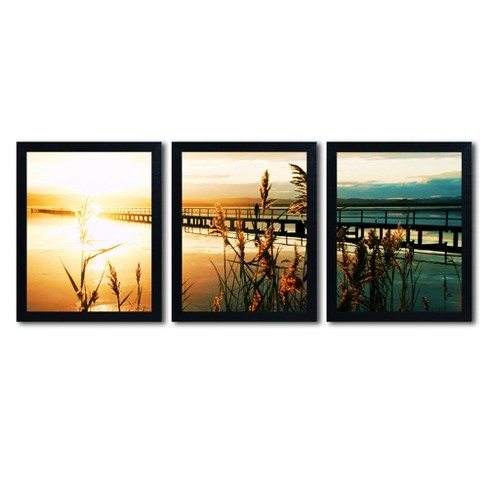 'Wish You Were Here' by Beata Czyzowska Young Ready to Hang Multi Panel Art Set - image 1 of 4