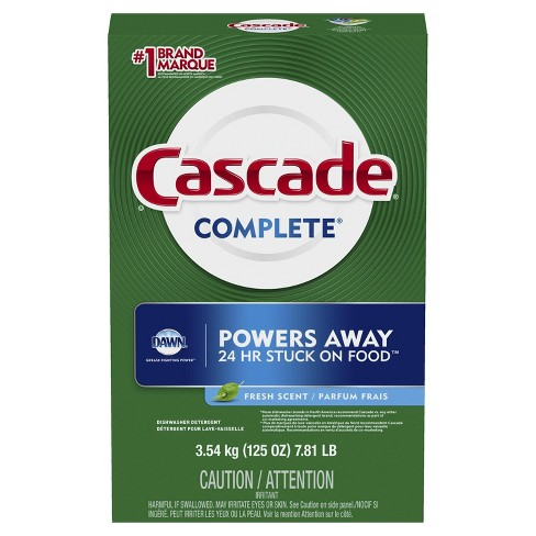 Cascade Complete Fresh Scent Powder Dishwasher Detergent - image 1 of 3