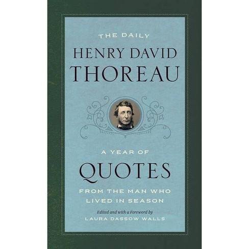 The Daily Henry David Thoreau - (Paperback) - image 1 of 1