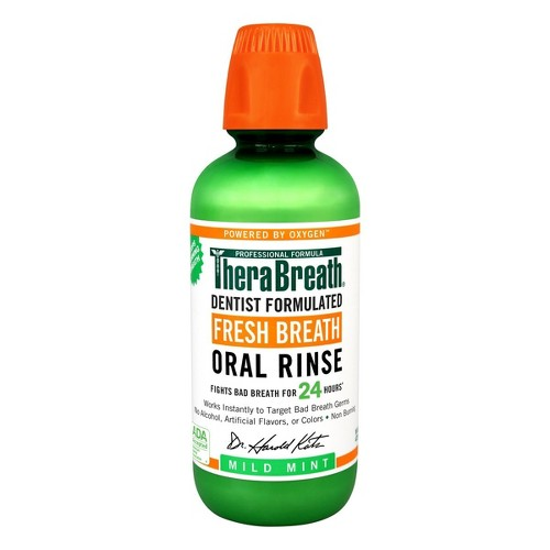TheraBreath Mild Mint Fresh Breath Oral Rinse - 16oz