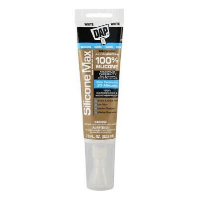 DAP Silicone Max Window and Door 2.8oz Clear