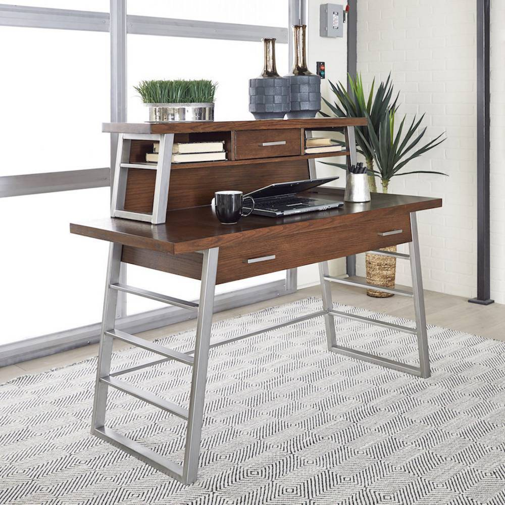 Degree Home Office Desk with Hutch Modern Home Styles