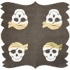 Sparkle and Bash 50 Pack Disposable Paper Napkins, Pirate Skull Jolly Roger Baby Shower Birthday Party Supplies - image 3 of 3