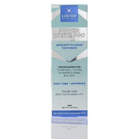 Luster Power White Pro Toothpaste - 4oz - image 1 of 3