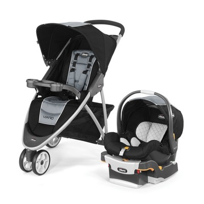 Chicco Viaro Techna Travel System - Black